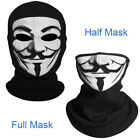 Vendetta CV Fabric Mask Helmet Balaclava Skull Hood Halloween Smile Face Cosplay