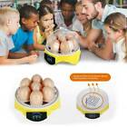 7 Egg Poultry Hatcher Digital Bird Temperature Control Small Automatic E1P2