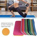 Yoga Knee Pad Cushion Anti-Slip Thick Exercise Travel Mat Floor ~NEW Mat D0U0