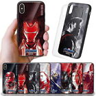 Avengers Endgame Vintage Glass Case for Samsung Galaxy Note9 Note8