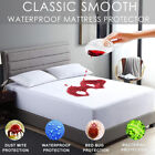 Mattress Cover Protector Waterproof Pad Twin/Full/Queen/King Size Bed Cover Free image