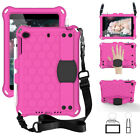 For iPad Mini 1 2 3 4 5 Shockproof EVA Foam Handle Kids Rubber Stand Case Cover