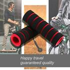 1pair Sponge Foam Bicycle Handle Bar Grip Cover For Yellow Road Riding V2d6