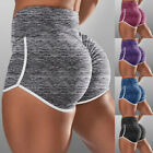 Women Yoga Shorts Scrunch Butt Lift Booty Gym Fitness Running Sport Hot Pants