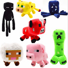 Minecraft Plush Kids Gift Children Stuffed Animal Soft Plushies Toy UK STOCK