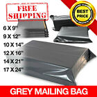 New Grey Mailing Bags Strong Postal Poly Postage Self Seal All Sizes Cheapest
