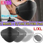 Face Mask Reusable Washable With Carbon Filter Mouth Nose Separate Anti Haze Fog