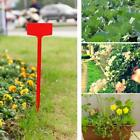 Yard Plant Labels Stake Plant Nursery Tray Garden Stick T-type Plastic K7q5