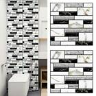 3d Wall Tile Stickers Mosaic Self-adhesive Home Kitchen Bathroom Decoration Us