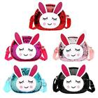 Pu Sling Bag Rabbit Fashion Sequin Packs Kids Girl Crossbody Shoulder Bags #8y