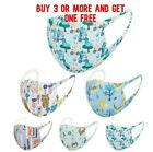 Kids Face Mask Boys Girls  Reusable Washable 3d Cloth Protection Cover Stretch