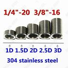 1/4-20 3/8-16 304 Stainless Helical Coil Wire Thread Insert British system