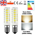 2 PCS E14 7W LED Light Bulb Lamp for Kitchen Range Hood Chimmey Fridge Cooker UK