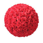 "8"" Dia Flower Kissing Ball DIY Silk Rose Pomander Wedding Party Centerpieces"