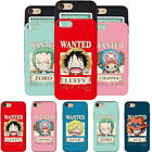 One Piece Wanted Card Slide Case for Samsung Galaxy Note20 Note10 Note9 Note 8 5