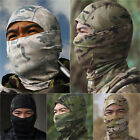 Unisex Camo Tactical Balaclava Full Face Mask Airsoft Scarves Outdoor Hunting