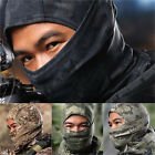 Unisex Camo Balaclava Full Face Mask Outdoor Cycling Hunting Neck Tube Cover Hat