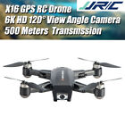 JJRC X16 GPS 360° Shooting RC Drones  HD Camera  Brushless Motor Quadcopter