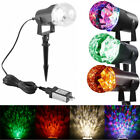 LED Galaxy Projector Rotating Flame Night Lamp Star Projection Night Light US