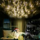 Starry Night Sky Projector Lamp Kids Baby Gift Moon Star Light Rotating Flame US
