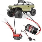 550+Brushed+Motor+360A+Brushed+Electronic+Speed+Controller+ESC+for+1%3A10+RC+Car