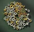 100pcs Alloy Gold Sliver Spacer Beads For Bracelets Jewelry Making Free Shipping