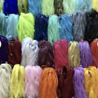 """5, 10, 25 Pcs *choose Color* - Organza Cord Chain Necklace For Jewelry 17+3"""""""