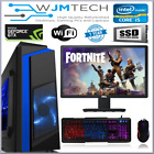 Gaming Pc Bundle I5 3.3ghz 16gb 1tb Windows 10 4gb Gtx 1650 Desktop Computer
