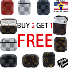 New Luxury Leather AirPods Case Cover Protective Design For AirPods Pro and 1/2