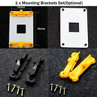 For B350 B450 X370 X470 Motherboard Mounting Brackets Back Plate Cooling Stand