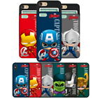 Avengers SD Card Slide Case for Samsung Galaxy S20 S20+ Ultra / S10 S9 S8 S7