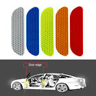4pcs Universal Tail Auto Reflective Tape Warning Mark Safety Car Door Stickers