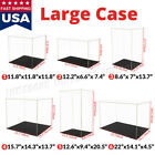Acrylic Display Case Collectibles Large Box Dustproof  Self-Install Diecast 1/18