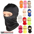 Man Women Neck Protecting Outdoor Balaclava Full Face Mask Microfiber Ultra-thin