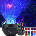 Galaxy Star LED Starry Night Light Projector Kids Baby Sky Ocean Wave Lamp Gift