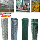 10m-50m Galvanised Wire Mesh Wire Mesh PVC Coated Garden Hutch Fencing-50%Sale💥