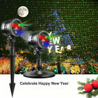 Christmas Projector Light LED Laser Landscape Outdoor Xmas Lamp Happy New Year