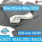 Grey Mailing Poly Bag Postage Post Mail Postal Shipping 100% Recyclable Plastic