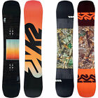 K2 Afterblack Hombres Snowboard Twin All Mountain Freestyle 2020-2021 Nuevo
