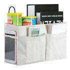 Desk Bedside Storage Caddy Hanging Bag Sofa Organizer Pocket Book Holder