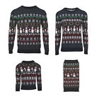 RARE Matching Family Christmas Jumpers sweaters Pet Dog Mens Womens Kids