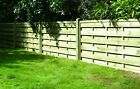 Wooden Fence Panel - Square Horizontal - FREE DELIVERY 50 MILES OF BOSTON