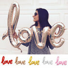 LOVE Letters Foil Balloon Birthday Wedding Party Decoration Supplies Balloons