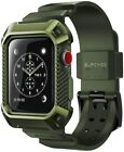 For Apple Watch Series 3 2 1, SUPCASE Rugged Total Access Case Cover Strap Band