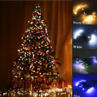 1-10M LED Fairy String Light Meteor Icicle Battery Xmas Wedding Garden Decor