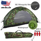 1-4 Person Instant Pop-Up Camping Tent Family Hiking Camouflage Waterproof + Bag