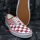 Vans AUTHENTIC MIX CHECKER CHILI PEPPER SIZE 11 MENS SKATE SHOES /S09165.559