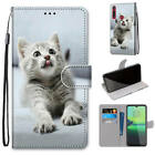 Magnetic Leather Strap Flip Stand Card Slots Case For LG/Motorola/Alcatel/Lenovo