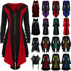 Womens Ladies Renaissance Medieval Gothic Victorian Witch Cosplay Costume