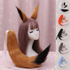 Fox Ears Tail Anime Cosplay Props Cosplay Props Long Plush Xmas Costume